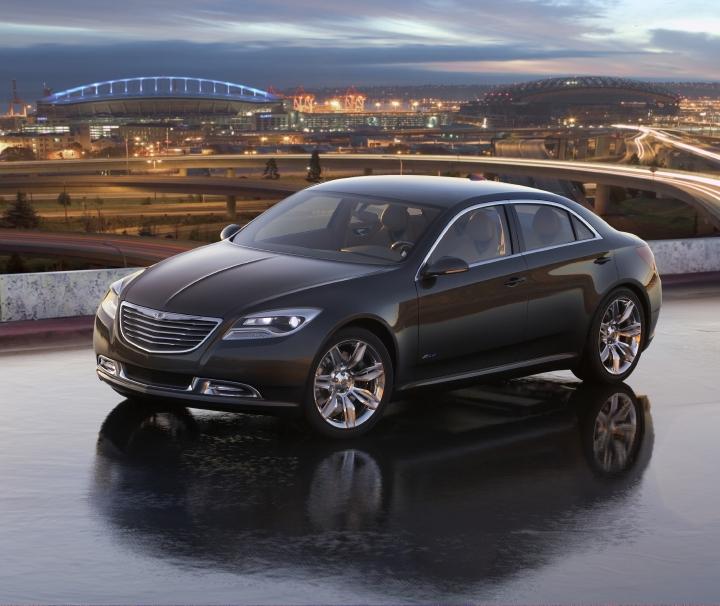 Chrysler 200C EV Concept - Autosavant
