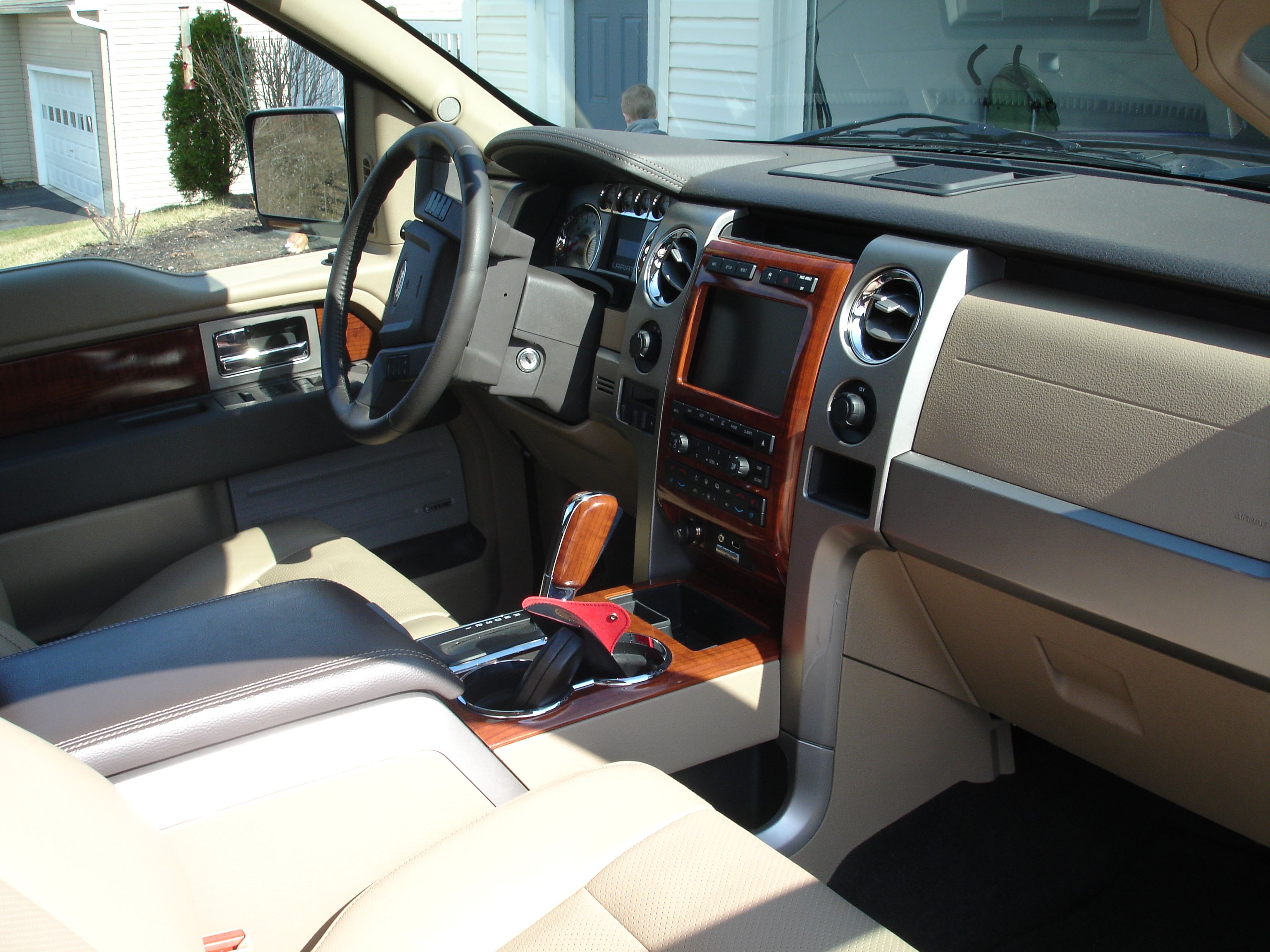 2004 ford f150 fx4 supercrew interior
