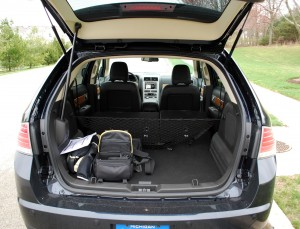 Power Liftgate and Power Fold Seats