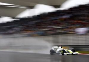 Jenson Button's Braun F1
