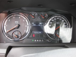 Constant Glare on Instrument Panel