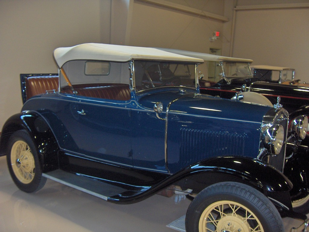 Jazz-Age Ford with Rumble Seat