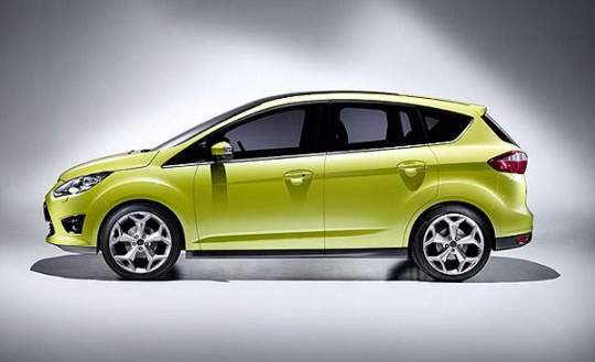 2012 Ford C-Max side