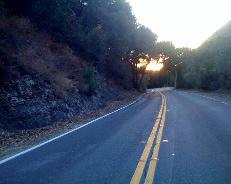 Silverado Canyon Road