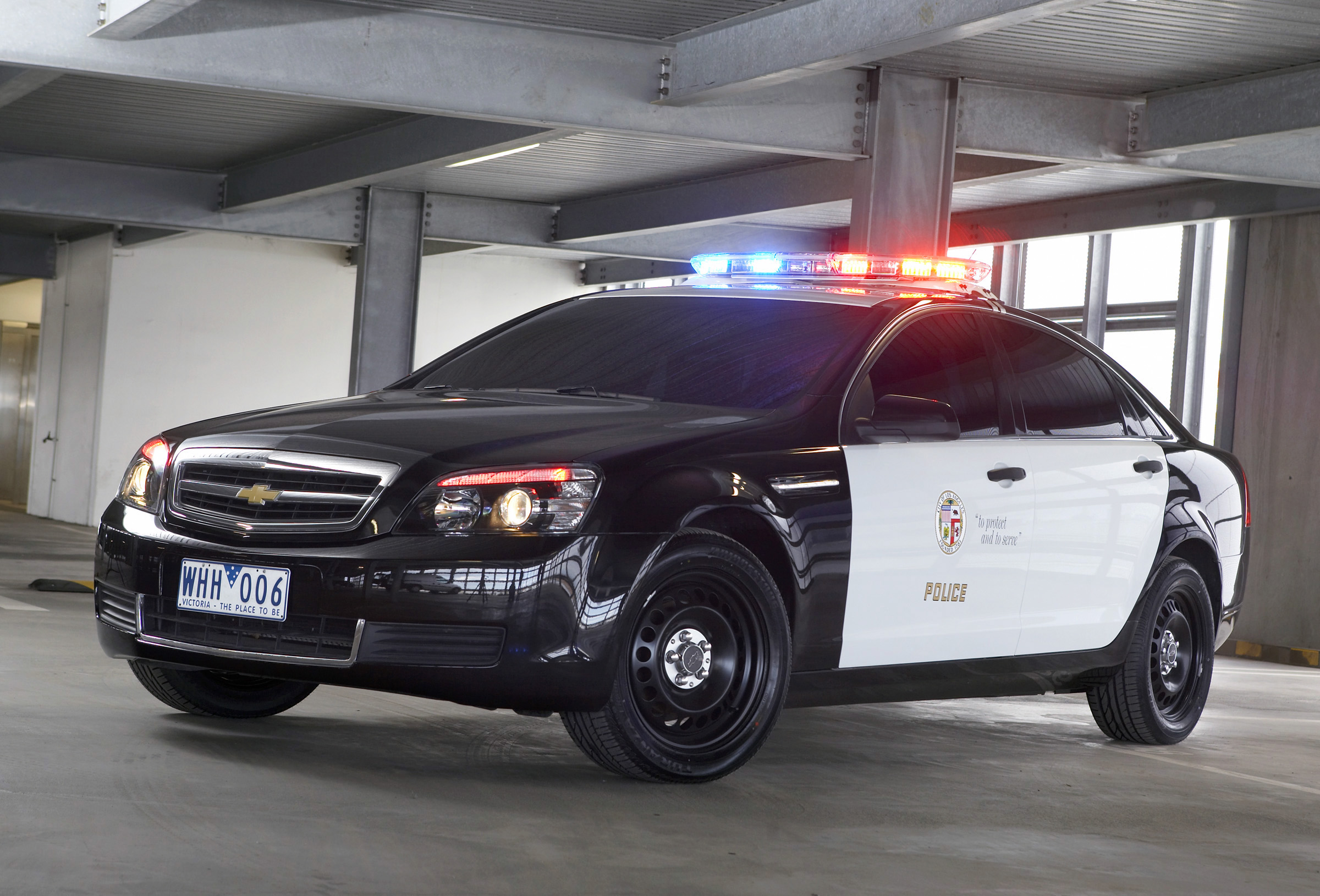 Chevrolet Caprice Police Patrol Vehicle With