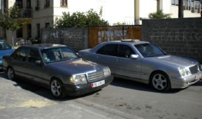 The once car free land where mercedes is now king for Mercedes benz albania