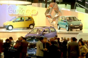 Paris Show 1992 Renault Twingo debut