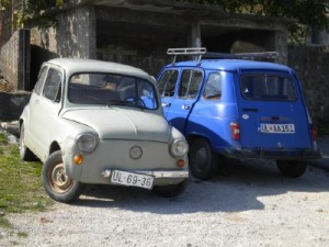 Zastava Fico and Renault 4