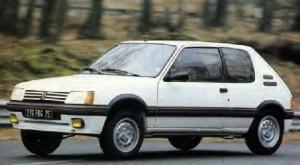 1985 Peugeot 205GTI