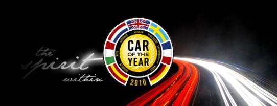 2010 Europe COTY Logo