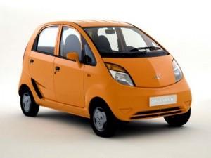 2010 Tata Nano orange