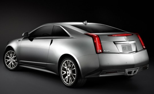 2011 Cadillac CTS Coupe rear 3-4
