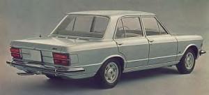 Fiat 130 rear