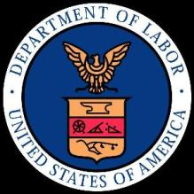 US Dept Labor logo