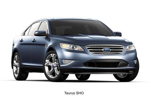2010 Ford Taurus SHO blue
