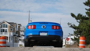 2010 Mustang GT Convertible Beach Rear
