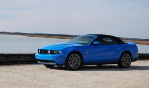 2010 Mustang GT Convertible Side Shot Bay