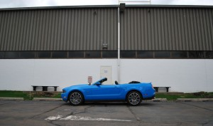 2010 Mustang GT Convertible Side Warehouse