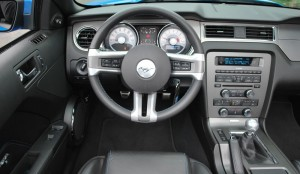 2010 Mustang GT Interior Driver View