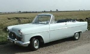 Ford Zephyr mk2 Convertible