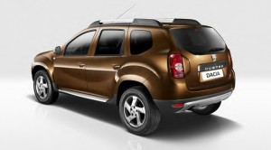 New Dacia Duster rear