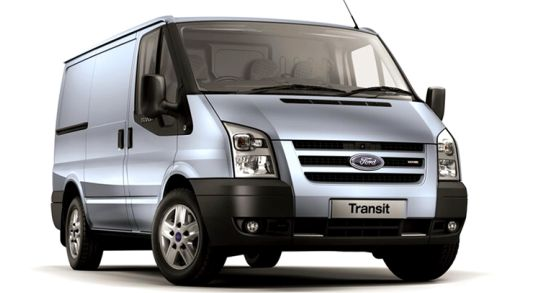 The full-size Ford Transit Van, the Transit Connect's big brother
