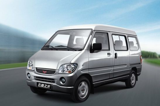 2009 Wuling Sunshine front 3-4