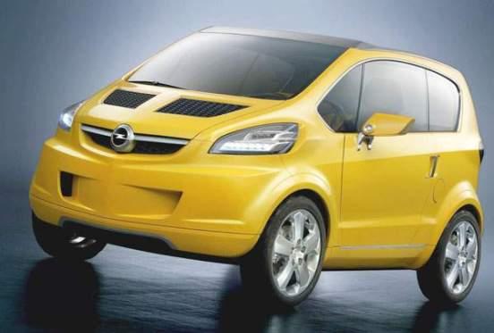 Opel Trixx Concept 2004 552X373