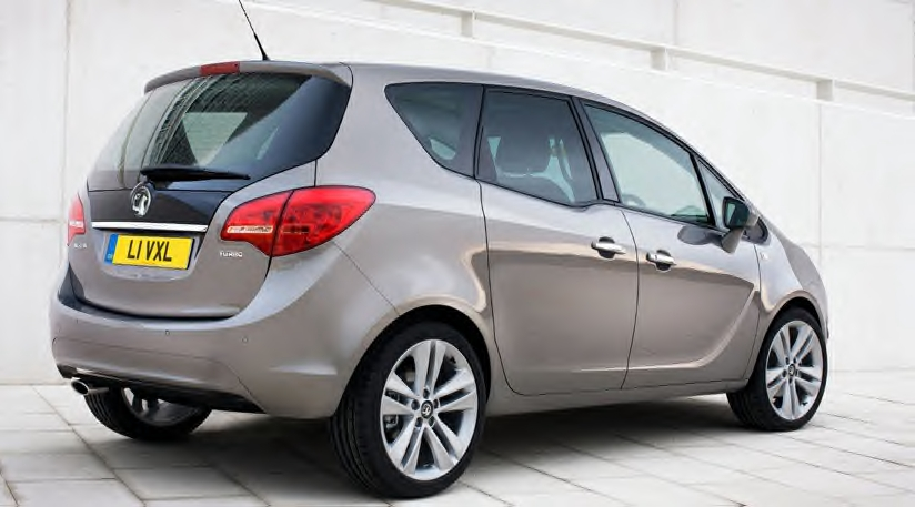 High Hopes For Gm In Europe As Meriva Mini Mpv Previewed
