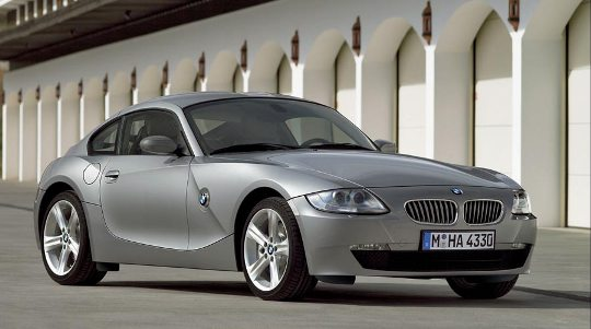 2007 BMW Z4 Coupe front 3-4 medium