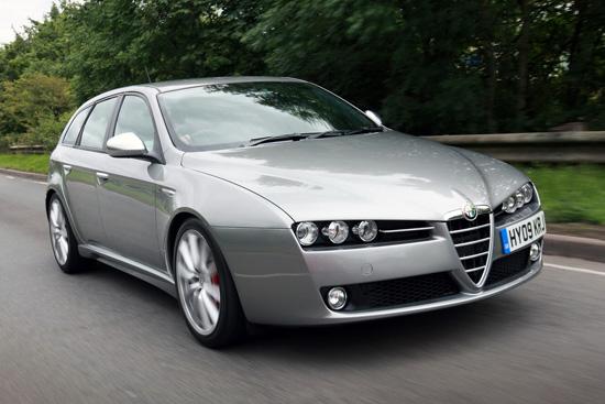 2010 Alfa Romeo 159 saloon
