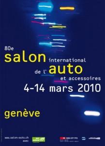 80th Geneva International Motor Show poster