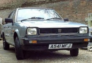 Triumph Acclaim front