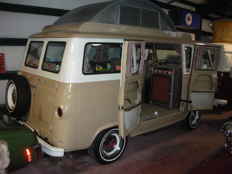 A Visit To Lemay Americas Car Museum Autosavant 1964 Ford Econoline Van Travel Wagon