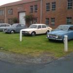 Northwest Saab Owners Club at LeMay