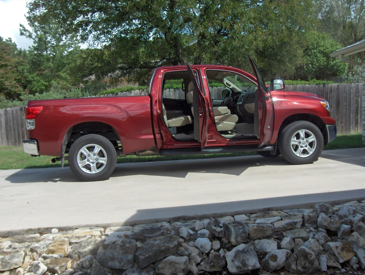 The Tundra Was Redesigned In 2007 ...