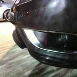 Saab 9-3 Hirsch front spoiler detail