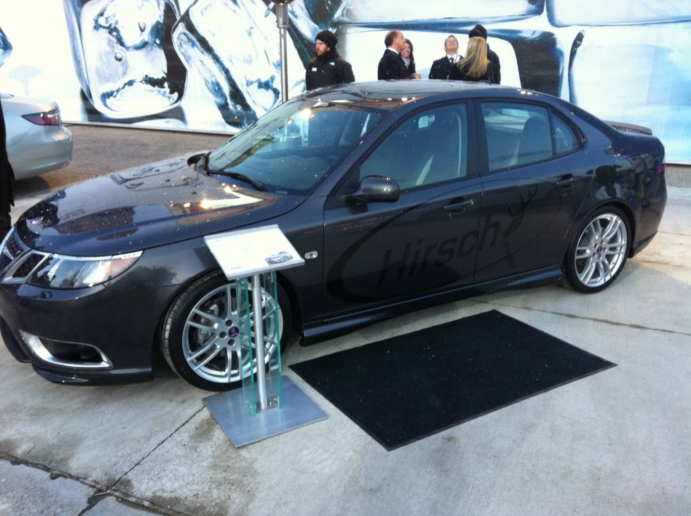 Detroit 2011 Saab Launches Hirsch Performance Products For Us