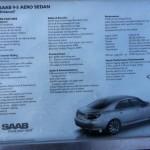 Saab 9-5 Hirsch Info Sheet
