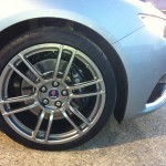 Saab 9-5 Hirsch Wheel detail