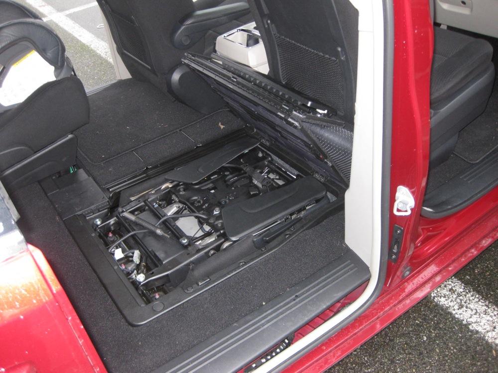 Honda odyssey spare tire 2011 location honda get free for 04 toyota sienna sliding door problems
