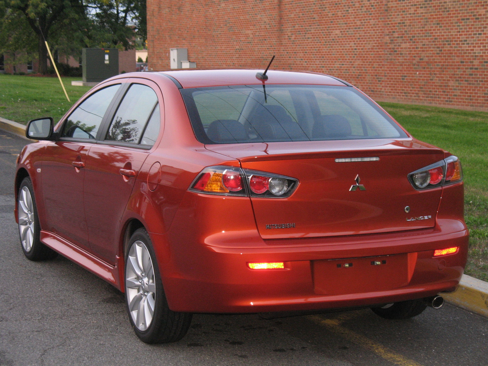 Review: 2011 Mitsubishi Lancer GTS - Autosavant