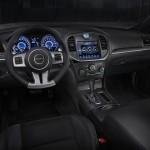 Interior of the 2012 Chrysler 300 SRT8
