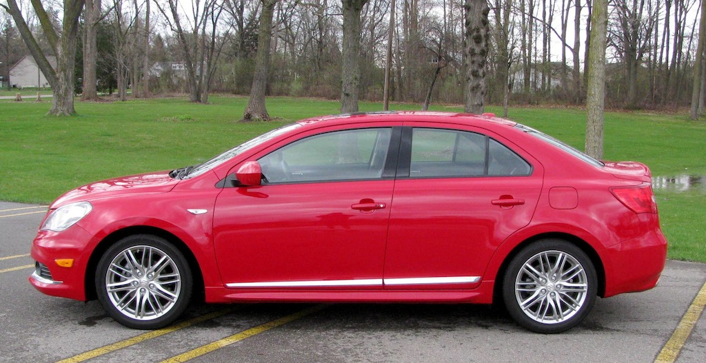 Now About Those Vehicle Dynamics The Kizashi Gets De Rigueur Nurburgring Tuned Suspension With MacPherson Struts And Coil Springs Up Front A