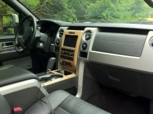 2011 Ford F-150 Lariat Interior