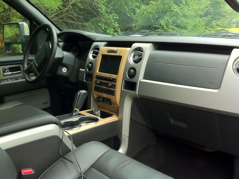 Ford F  Lariat Interior