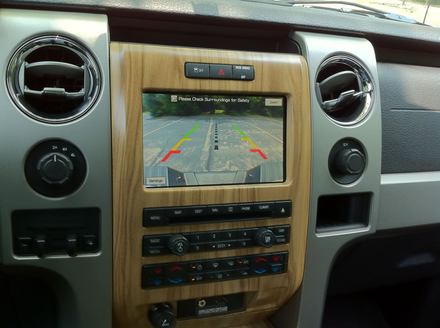 2011F150NavScreen aftermarket navigation system's show pics and discuss page 5  at gsmx.co