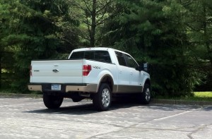 2011 EcoBoost Rear Quarter View
