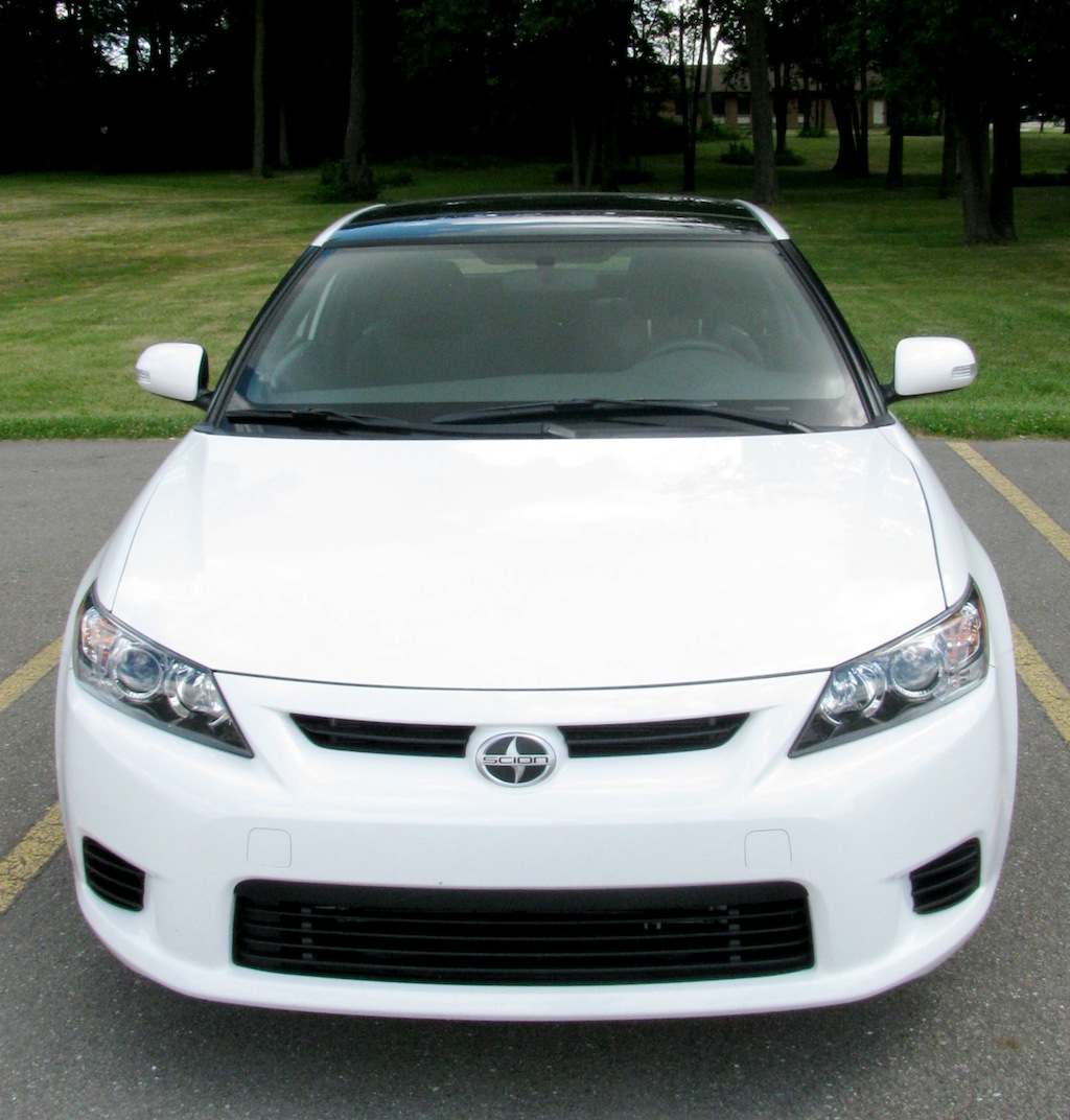 2011 Scion Tc White Super White 2011 Scion Tc Dark