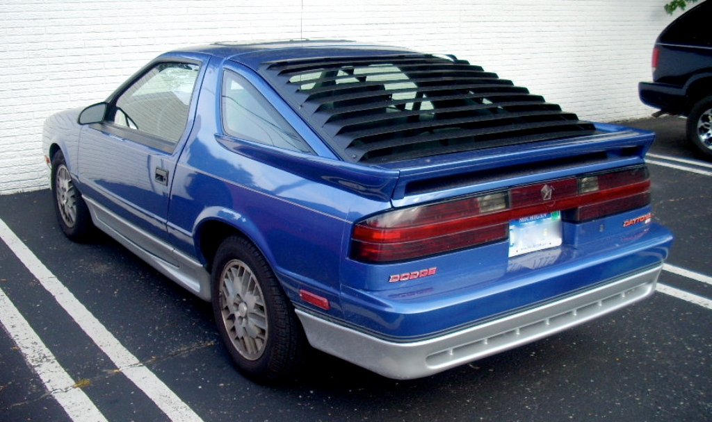 Hey, There's a Cool Car: 1992-93 Dodge Daytona ES | Autosavant